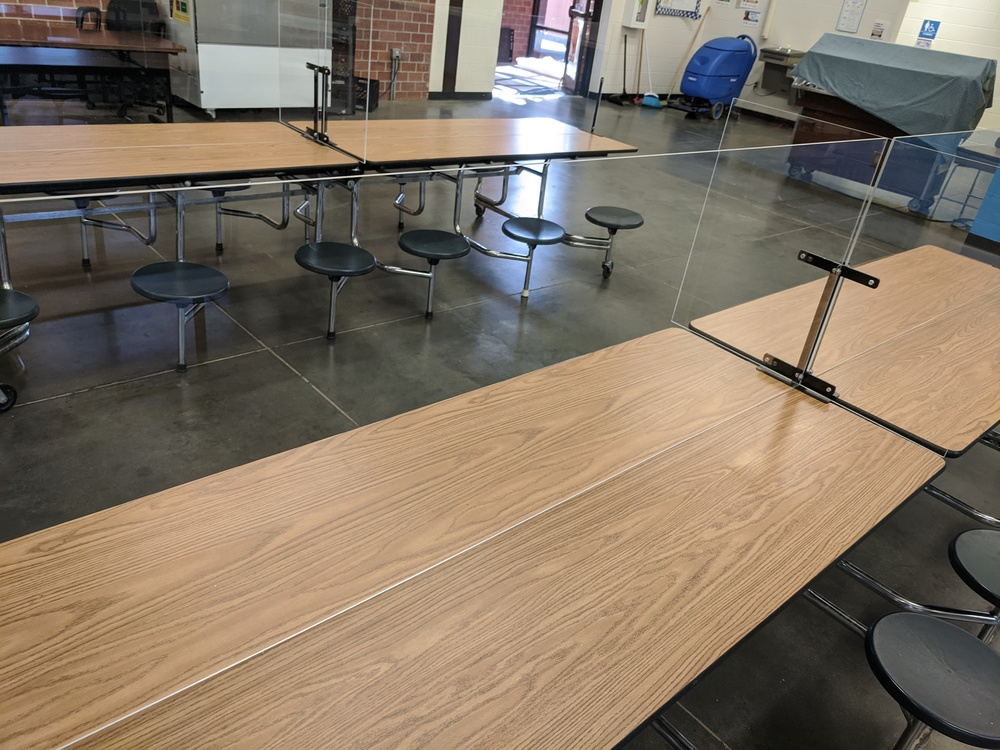 Cafeteria Barriers