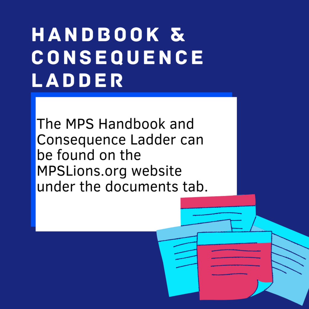 The MPS Handbook and Consequence Ladder can be found on the MPSLions.org website under the documents tab.