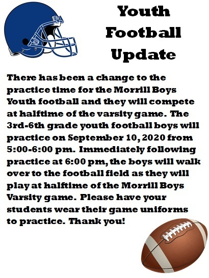 Youth Football Update